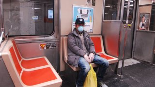 Person Ride SEPTA subway train
