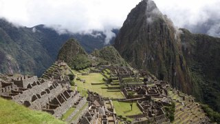 Machu Picchu, en Perú
