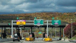 Pennsylvania toll booth