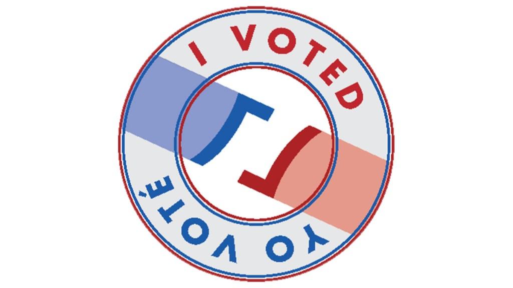 Sticker Finalista I Voted