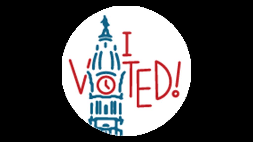 Sticker Finlaista I Voted