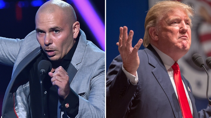 Pitbull-Donald-Trump