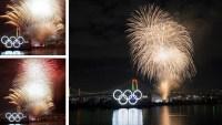 El colorido despliegue de luces a 6 meses para Tokio 2020