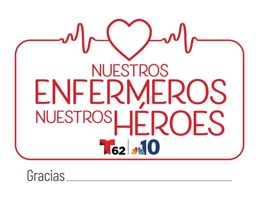 Telemundo 62 nuestros enfermeros nuestros heroes