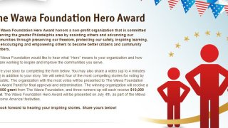 Wawa Foundation Hero Award