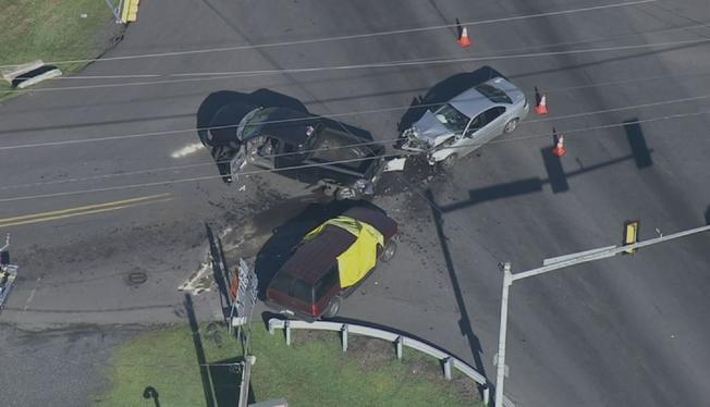 bucks county crash 31 jul