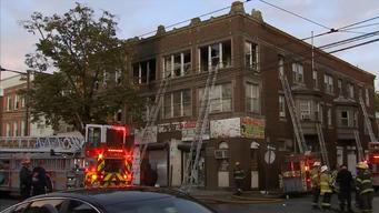 fuego en apartamento