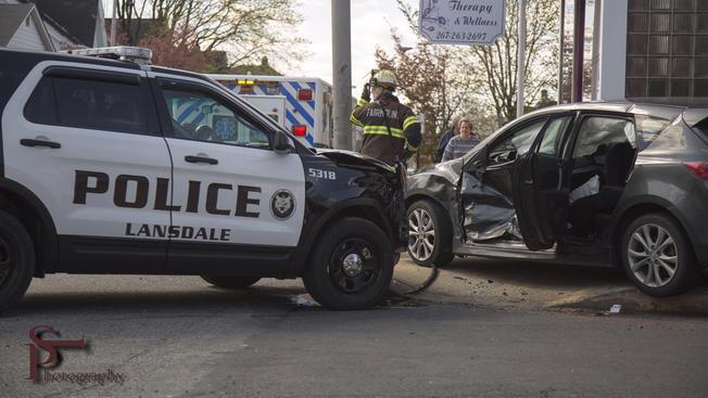 landsdale police crash