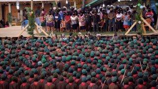 Encuentro zapatista en Chiapas