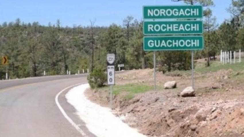 Carretera en Chihuahua