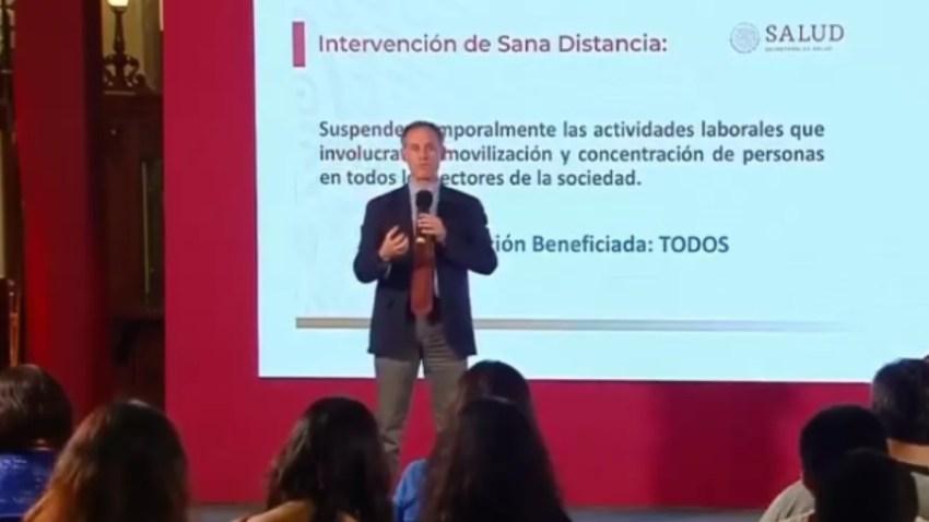 Subsecretario de Salud explica medidas de mitigación