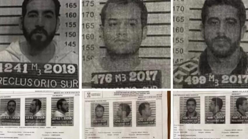 Tres reos se fugaron de cárcel en Ciudad de México.