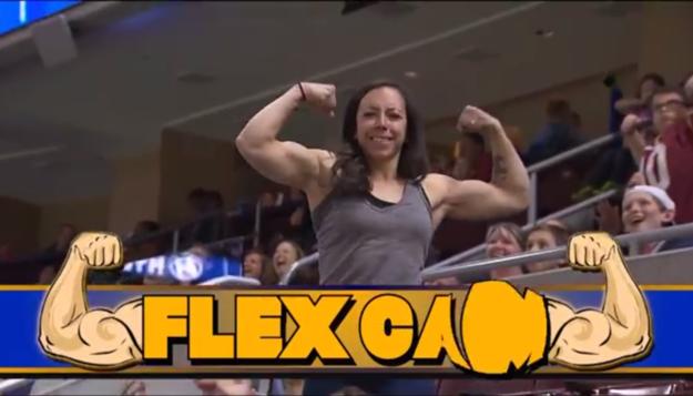 mujer flexcam