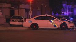 police taxi car colide 4 ago