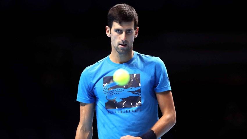 El tenista Novak Djokovic