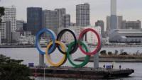 Instalan anillos gigantes en Tokio de cara a las olimpiadas