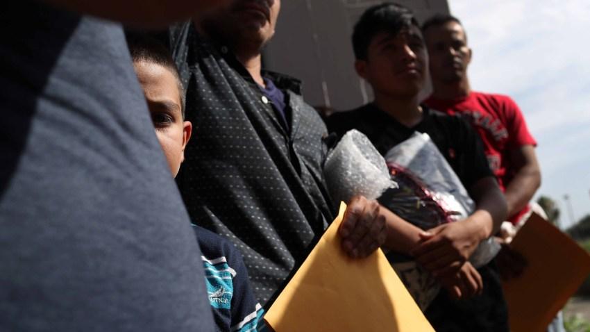 Foto de inmigrantes indocumentados