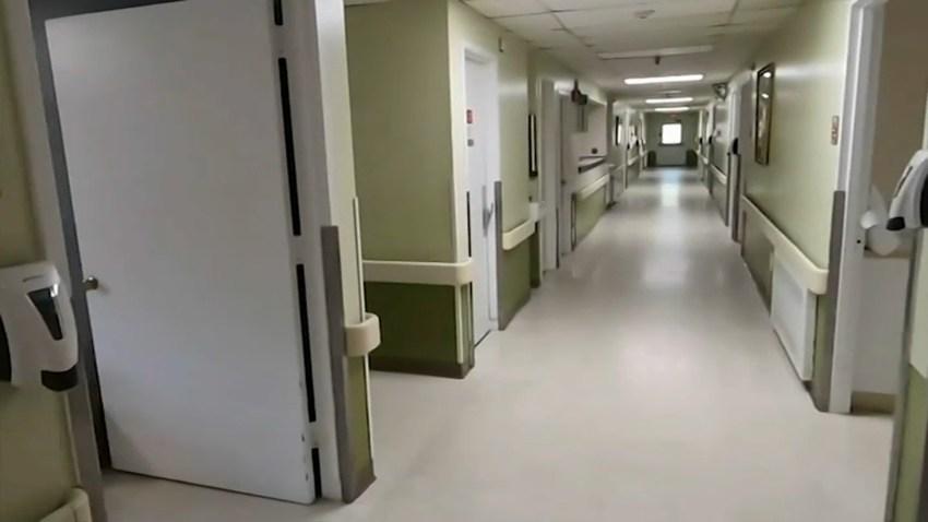 A nursing home hallway