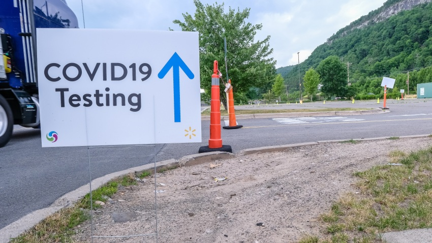 Walmart COVID-19 testing site