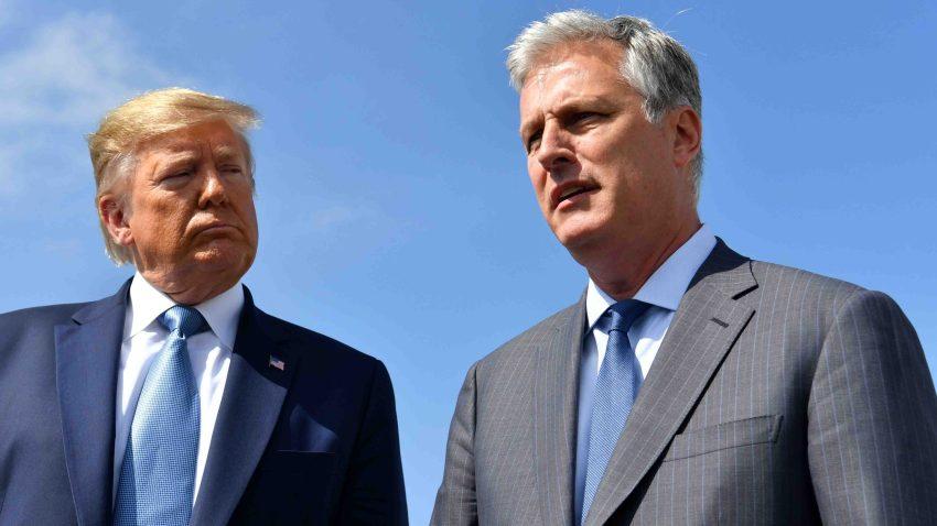 Trump y O'Brien