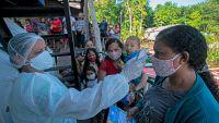 Brasil roza las 100,000 muertes y Colombia entra en la lista de los 10 países más afectados por el coronavirus