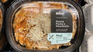Wawa Pasta and Meatballs