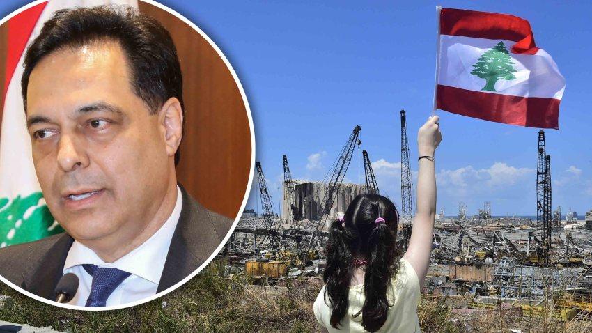 Explosion en el Líbano