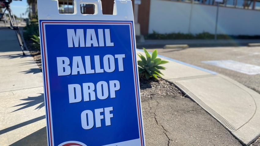 Mail Ballot Drop Off