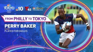 Rugby player Perry Baker