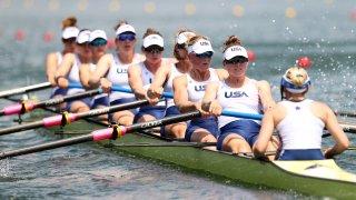 U.S. women's eight at Tokyo Olympics