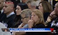 Miami le da el último adiós al pitcher de los Marlins José Fernández, en una emitiva ceremonia religiosa.