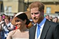 A solo tres días de la boda real, el príncipe Harry y Meghan Markle hicieran su primera aparición pública como una pareja casada este martes.