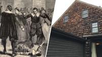 La casa de una de las más famosas víctimas de los juicios de brujas de Salem, está a la venta.