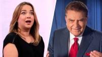 """Don Francisco felicitó a la presentadora por """"ser mamá nuevamente"""" durante una entrevista el jueves, pero la boricua explicó de..."""
