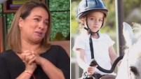 La conductota de Un Nuevo Día no pudo contener la emoción por un logro de su hijita de cuatro años. Para ver más de Telemundo,...