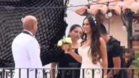 """""""Suelta la sopa"""" captó imágenes exclusivas de la boda de Zarelea Figueroa."""