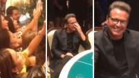 El cantante trataba de disfrutar del casino tras su concierto en Las Vegas, cuando se corrió la voz de que el Sol de México estaba allí y la...