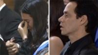 El cantante puertorriqueño se unió a la familia del fallecido pelotero de los Miami Marlins para darle el último adiós en una ceremonia privada.