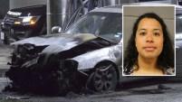 La madre es acusada de querer incinerarse junto con sus hijitas dentro de un auto en Texas.
