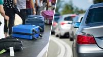 Se calcula que millones de personas viajan por carretera y avión durante los feriados.