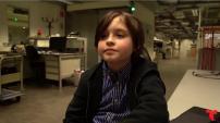 Conoce a este genio que terminará la universidad en 9 meses con solo 9 años de edad.