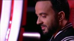 """Conmovedor: Luis Fonsi con la voz quebrada se despide de una de sus """"divas"""" en La Voz"""