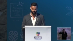 El mensaje de Ricky Martin a premios Nobel de la Paz