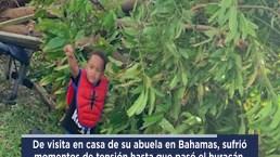 Abrazo viral tras volver de Bahamas