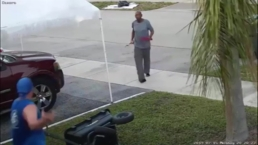 Disputa entre vecinos casi acaba en tragedia por intento de ataque con espada