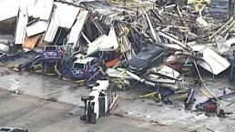 Desde el aire: tornados dejan devastación total a su paso