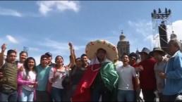 México se prepara para el primer grito de independencia de AMLO