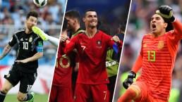 ¡No te rías! Las muecas y los extraños gestos del Mundial