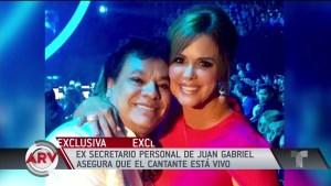 María Celeste entrevista al exsecretario de Juan Gabriel