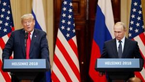 Trump cancela reunión con Putin en Argentina